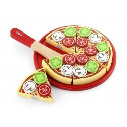 Pizza Do Krojenia Zabawka Drewniana