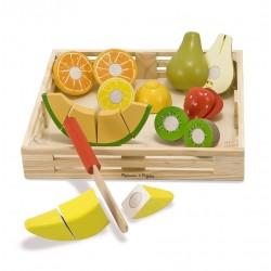 Owoce do krojenia zestaw duży