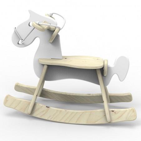 Koń na biegunach White