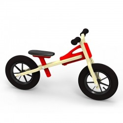 Rowerek biegowy Antek - Czerwony