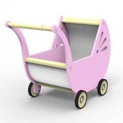 Wózek dla lalek - Róż
