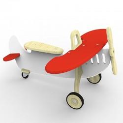 Jeździk Samolot - Czerwony