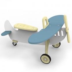 Jeździk Samolot - Niebieski