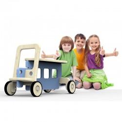 Jeździk Auto - Niebieski