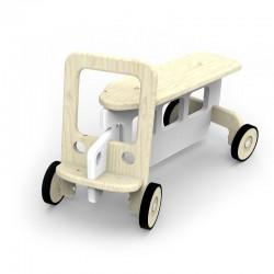 Jeździk Auto - Biały