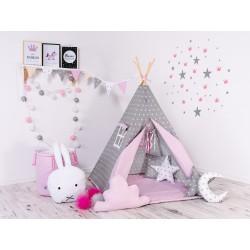 Namiot Tipi Różowy Pyłek