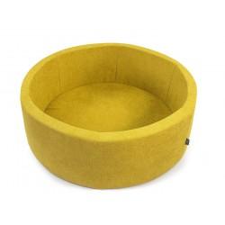 Suchy basen z piłeczkami koło Żółty + 250 piłeczek ( DOUX )