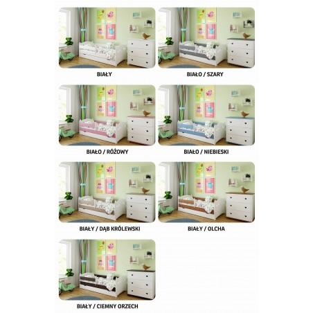 Łóżko dla dziecka Laura z szufladą