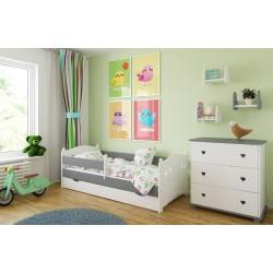 Łóżko dla dziecka Laurka z szufladą