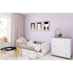 Łóżko dla dziecka Pola z szufladą