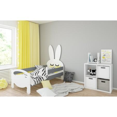 Łóżko dziecięce Króliczek bez szuflady