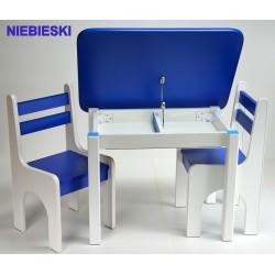 Otwierany stolik z krzesełkami Niebieskie